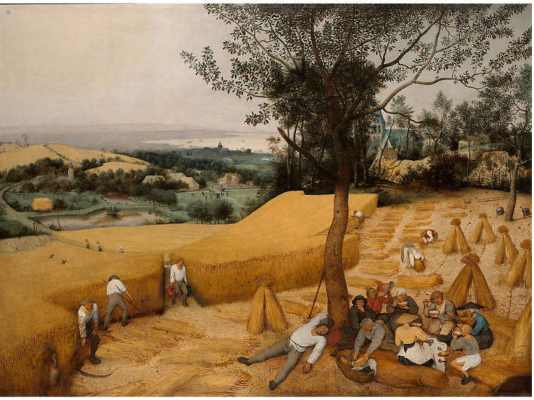 "Pieter Bruegel ""El viejo"", Las espigadoras, 1565"