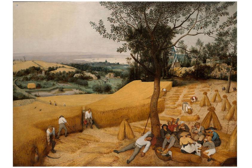 "Pieter Bruegel ""El viejo"", Las espigadoras 1565"