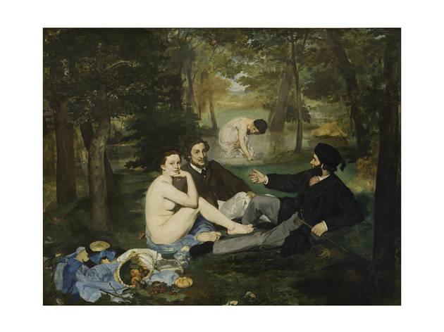 Édouard Manet, Almuerzo sobre la hierba, 1863