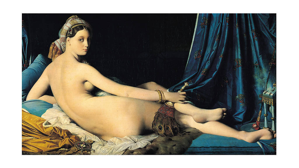 Jean Auguste Dominique Ingres, La Gran Odalisca, 1814