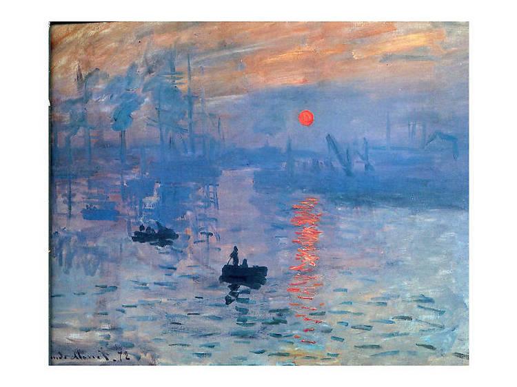 Claude Monet, Impresión, sol naciente, 1874