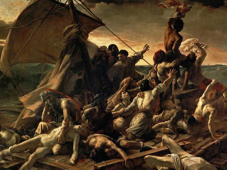 Théodore Géricault, La balsa de la medusa, 1818-1819