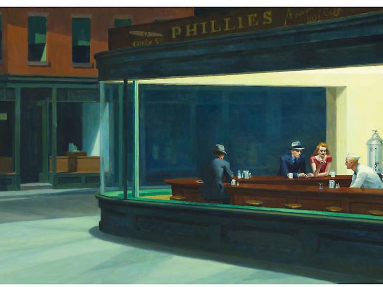 Edward Hopper, Noctámbulos, 1942