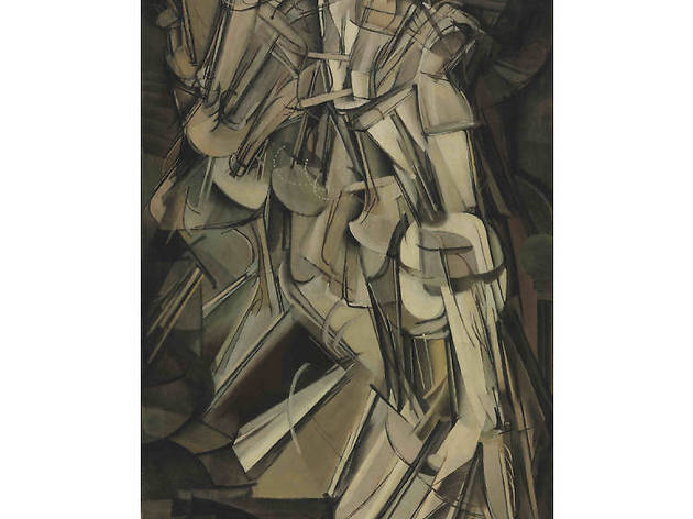 Macel Duchamp, Desnudo descendiendo una escalera, No. 2, 1912