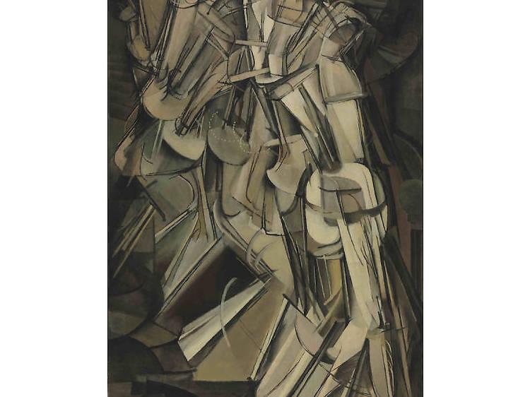 Macel Duchamp, Desnudo descendiendo una escalera, No. 2, 1912