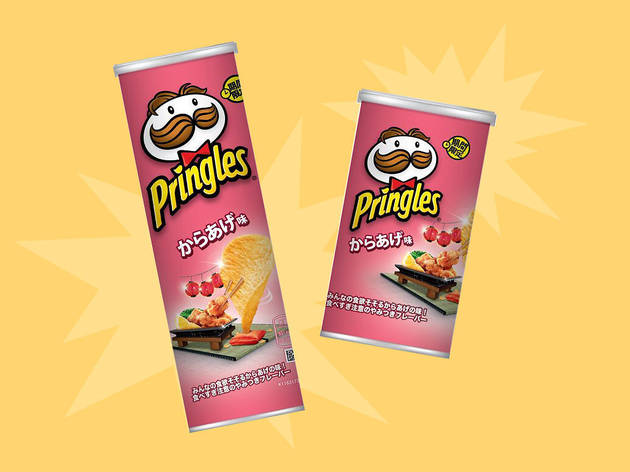 The new fried chicken-flavoured Pringles is only available in Japan