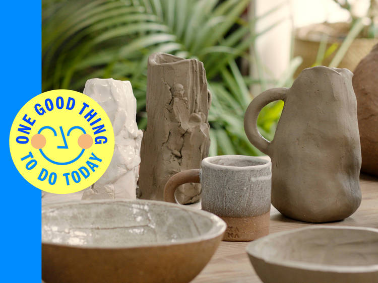 Sign up for a Kana London pottery course