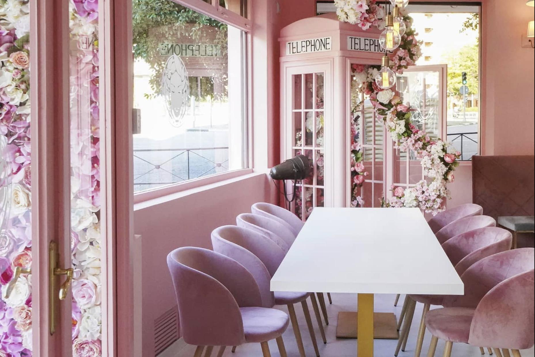 Así es la preciosa cafetería más rosa de todo Madrid que acaba de abrir