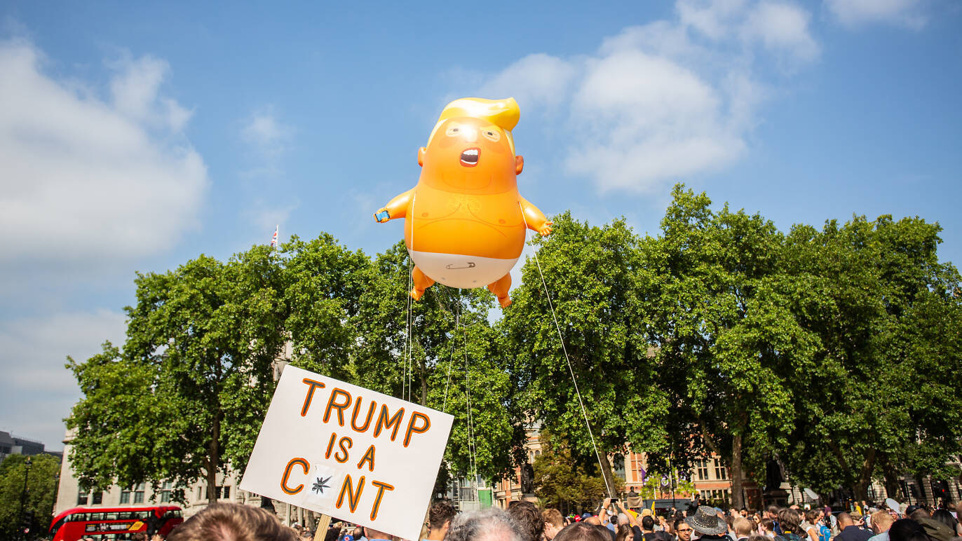 The Trump Baby blimp is headed to the Museum of London