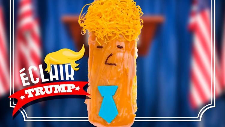 Éclair Donald Trump
