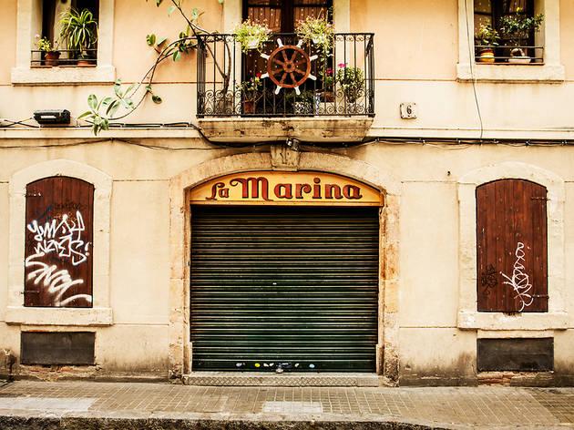 El bar La Marina de la Barceloneta