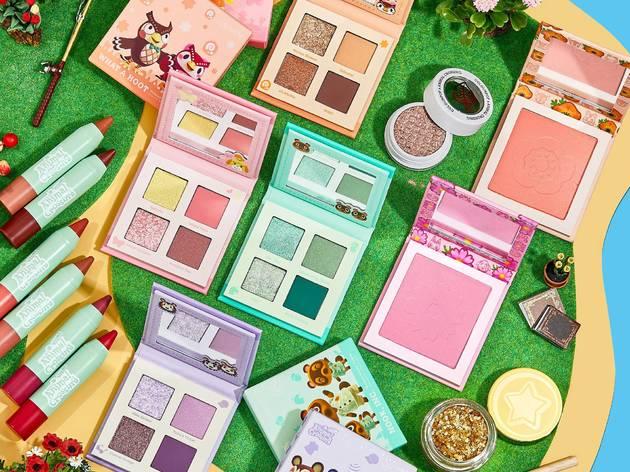 ¡Animal Crossing ya tiene su propia colección de maquillaje!