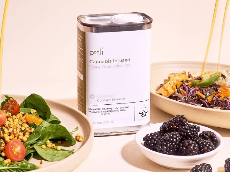 Extra Vibrant Olive Oil, Potli ($32)