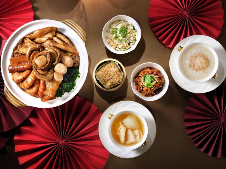 香港麗思卡爾頓酒店:冬日盆菜