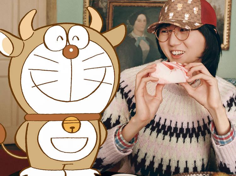 โดราเอมอนแปลงร่างวัว ในคอลเล็กชันพิเศษรับตรุษจีนปีฉลูจาก Gucci