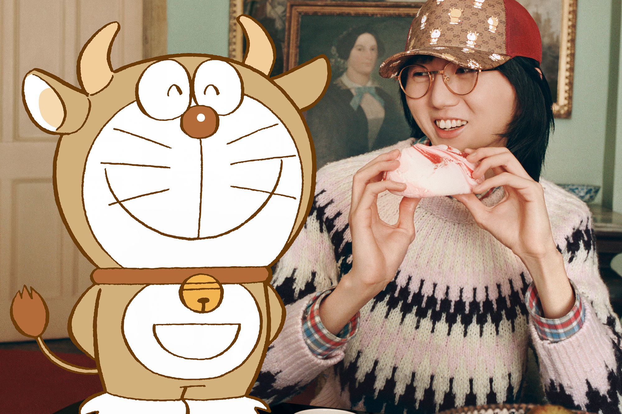 Gucci x Doraemon collection gets ox-grade for Chinese New Year 2021