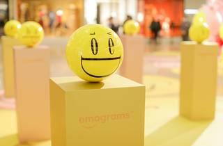 Times Square Emograms Houseful of Joy