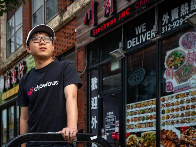 Chowbus founder Linxin Wen