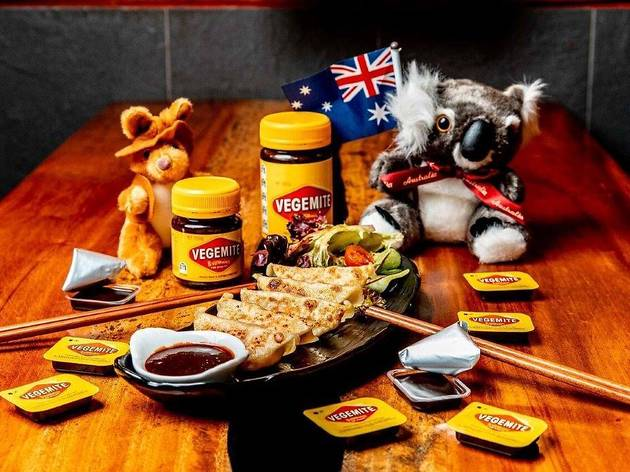 You can get Vegemite gyozas on January 26 at this CBD eatery