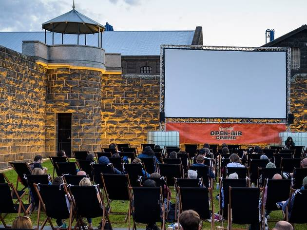 Pentridge Open-Air Cinema is unlike any cinema you've ever experienced