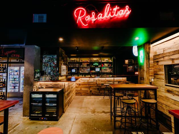 Interior Rosalita's bar Camberwell