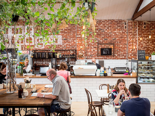 The Baker's Wife interior cafe Camberwell