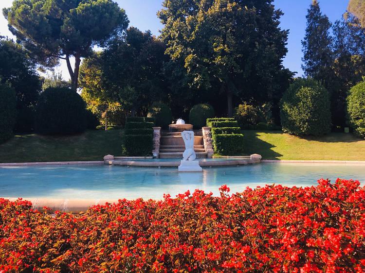 Jardins del Palau de Pedralbes
