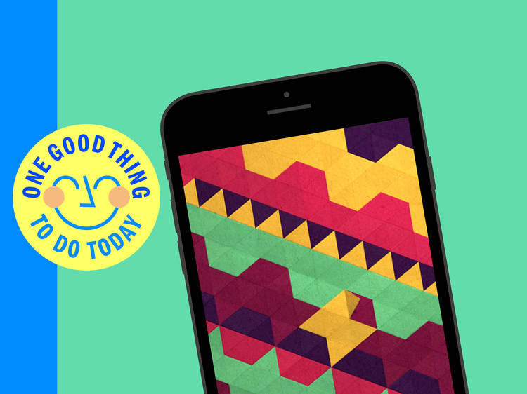 Download a relaxing phone game