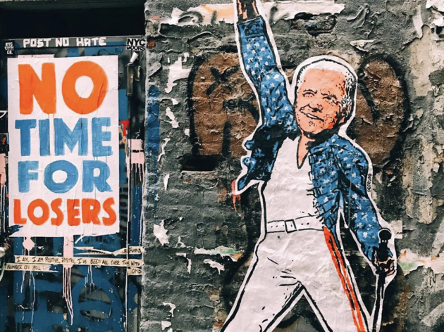 Check out some of the best Inauguration-themed street art around NYC