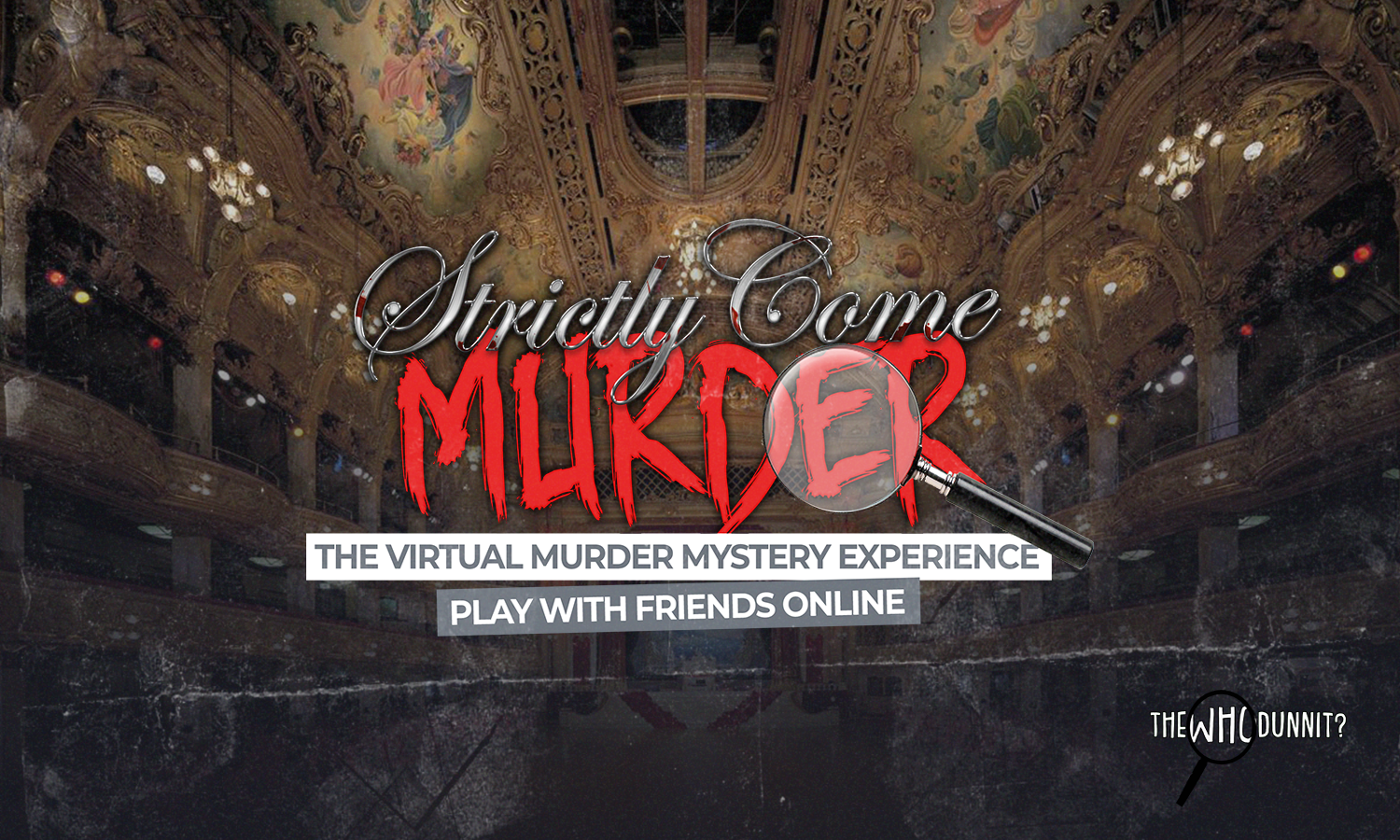 Half-price tickets to the Strictly Come Murder virtual whodunnit