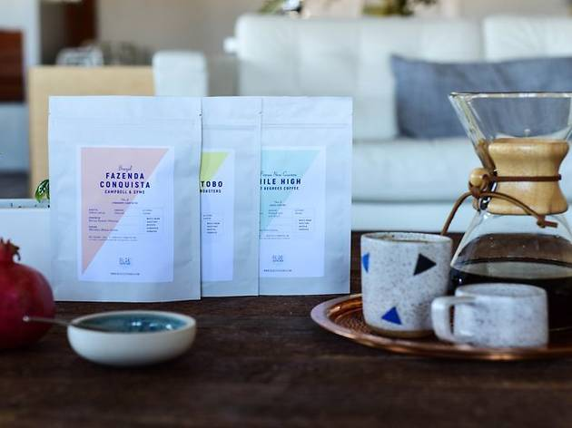One month free with any Blue Coffee Box subscription