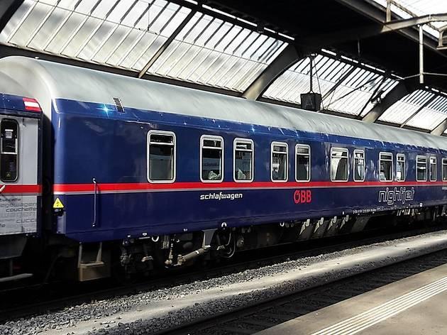 Tren Nightjet