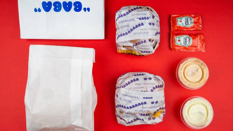 Baba, dark kitchen de hamburguesas en la CDMX