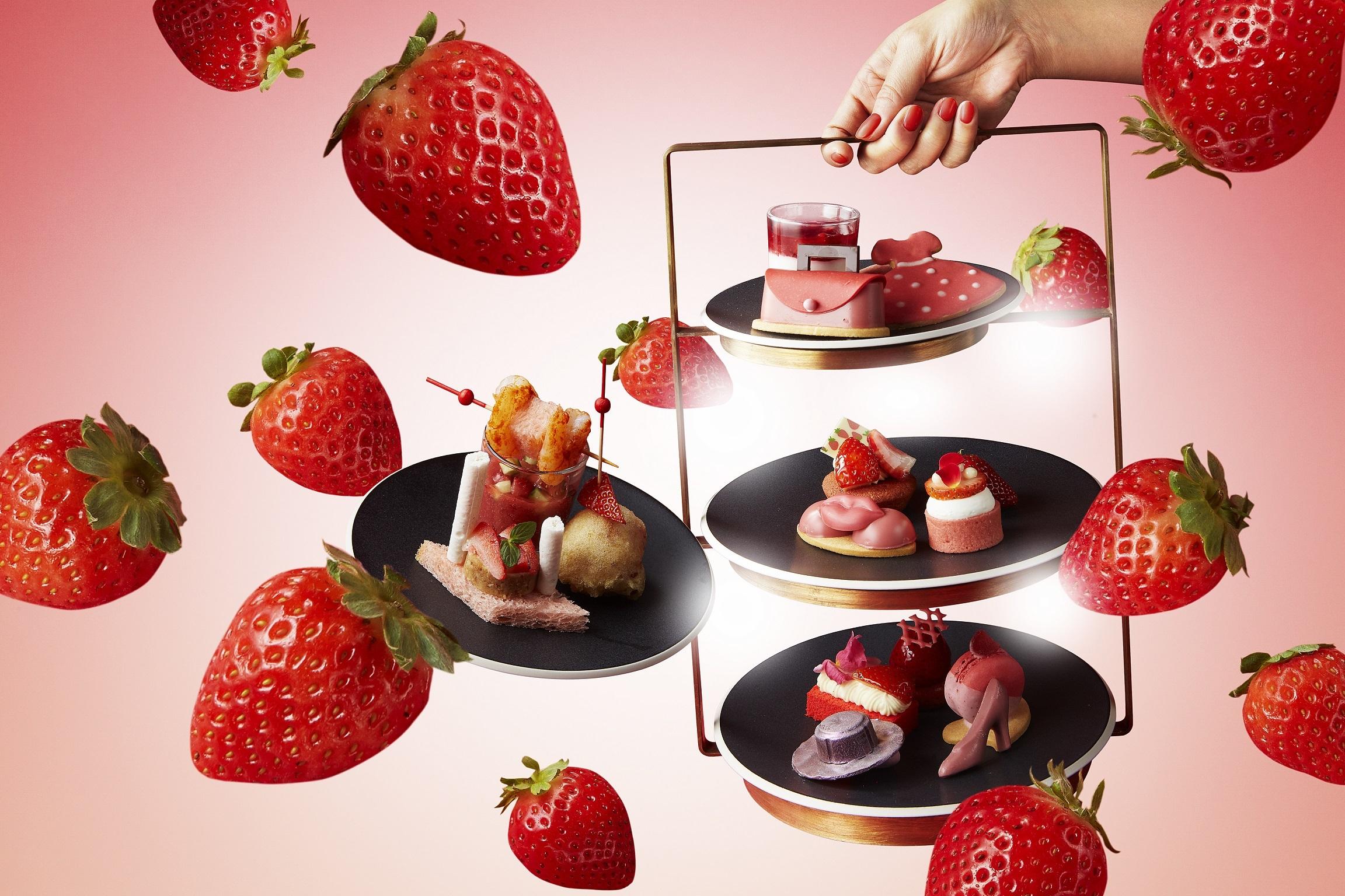 ANA InterContinental Tokyo Strawberry Afternoon Tea Set