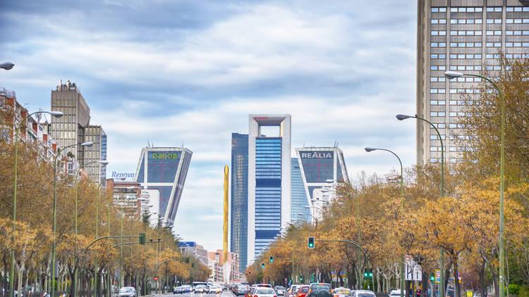 Paseo de la Castellana Madrid