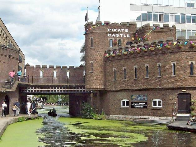 the pirate castle camden on Regent's Canal