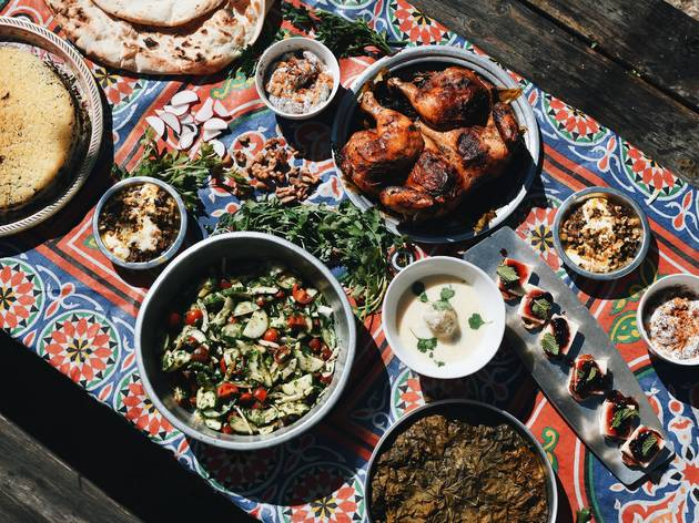 Isfahan Persian and Armenian food by Liam Kazar