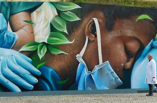 Mural em Loures