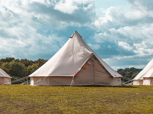 Bell tent – Camp Elwood