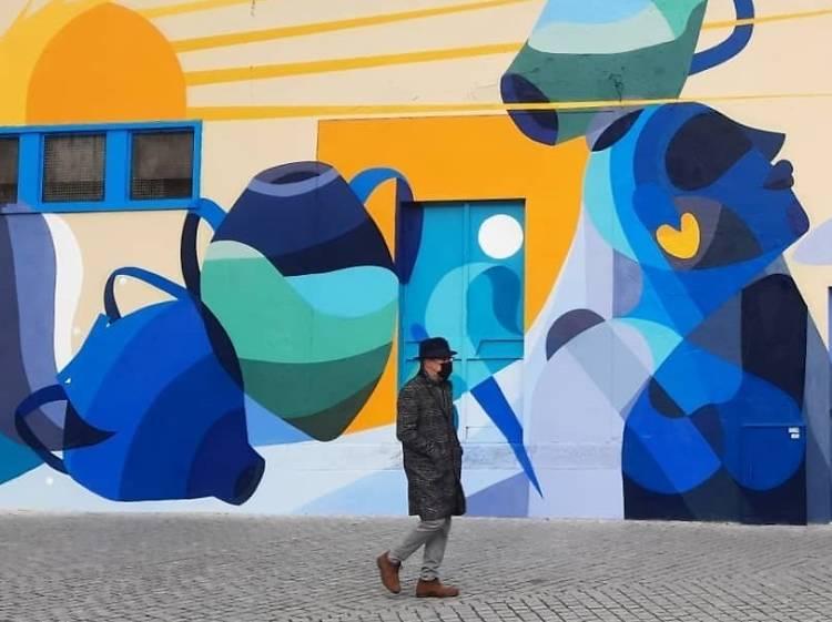 Faça um roteiro pela arte urbana da cidade