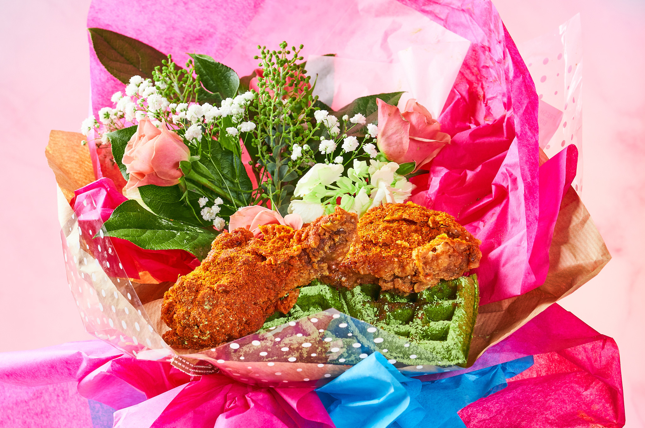 Tokyo Hot Chicken bouquet