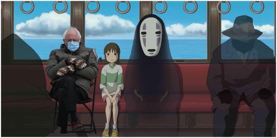 Bernie Sanders Ghibli