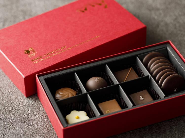 老舗純米蔵が本気で作る魅惑のチョコレート
