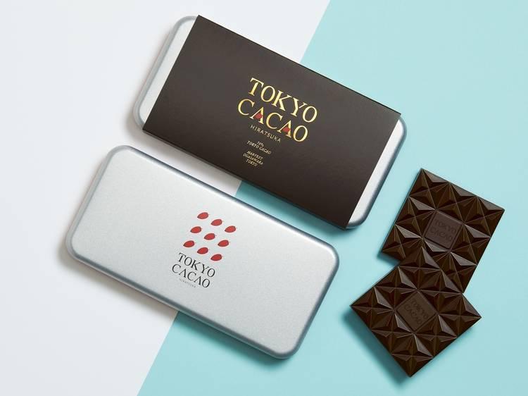 東京産カカオを使ったチョコレート