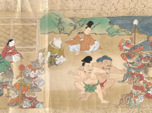 Download free Zoom backgrounds of Japanese art for your next video call
