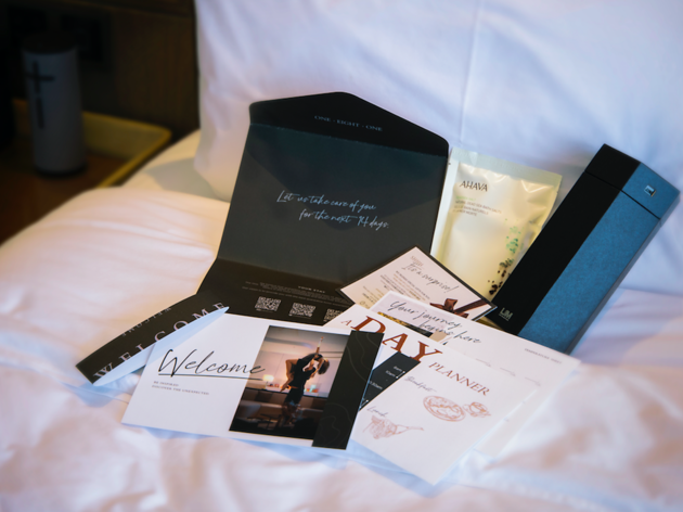 One-Eight-One Hotel & Serviced Residences Welcome Kit