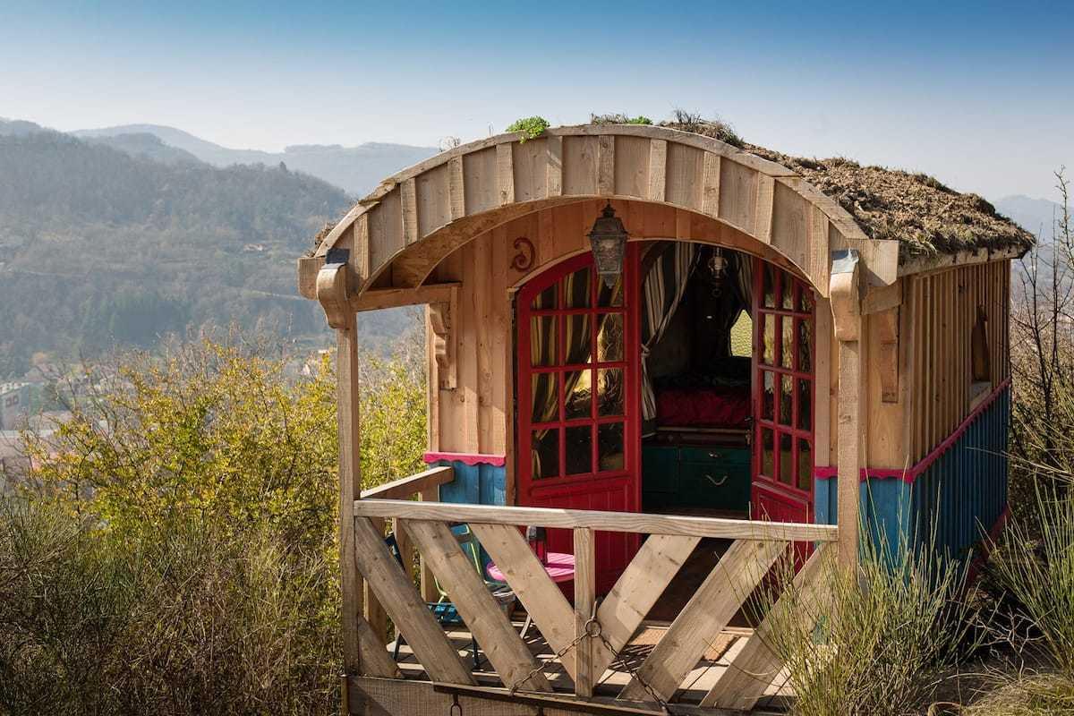 Airbnb, alojamientos unicos, roulotte