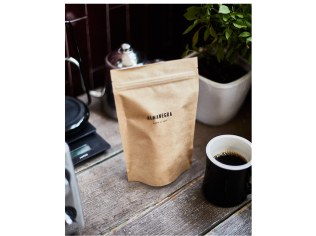 Café en grano a domicilio. Almanegra Café