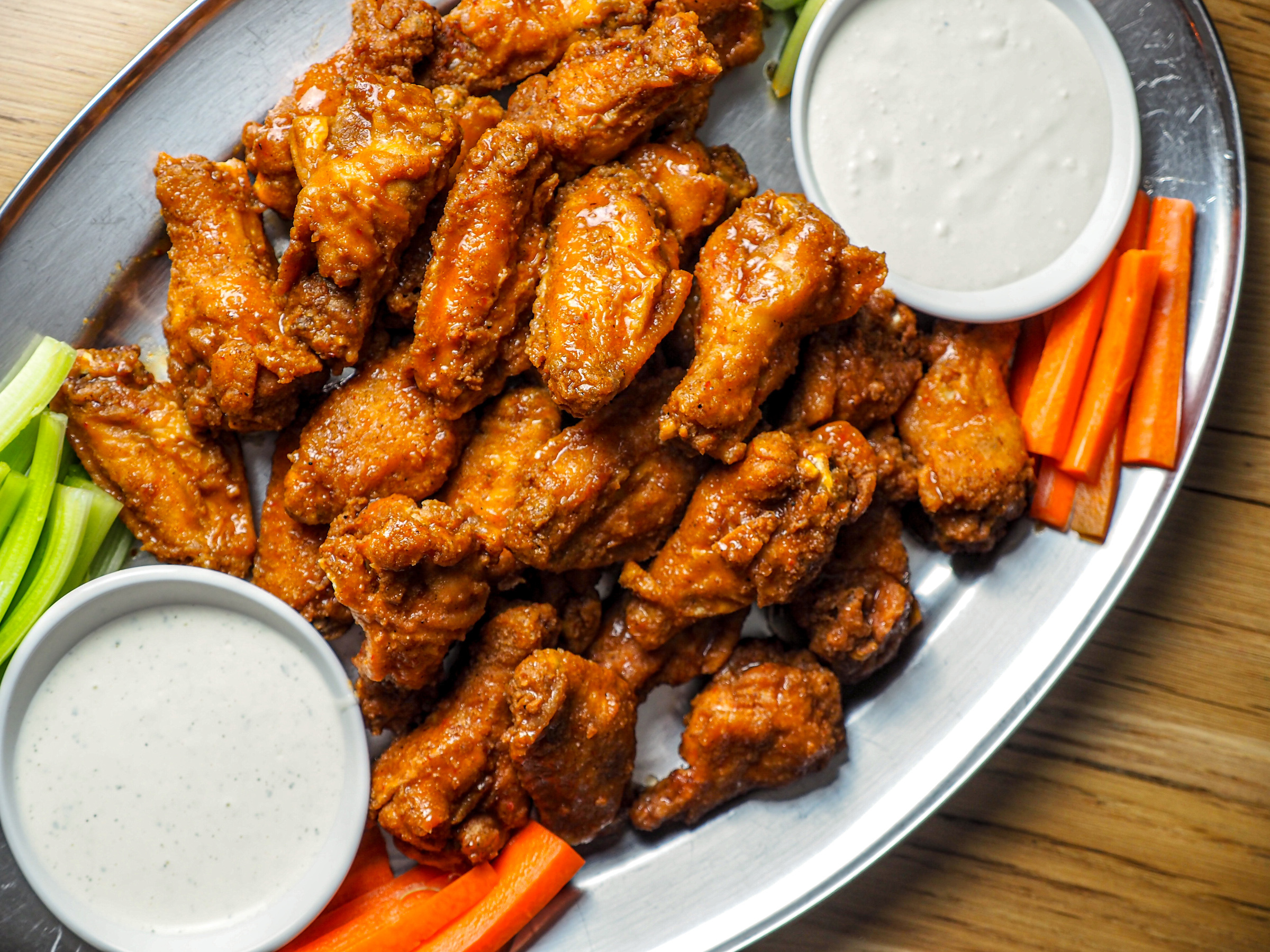 The Fifty/50 wings