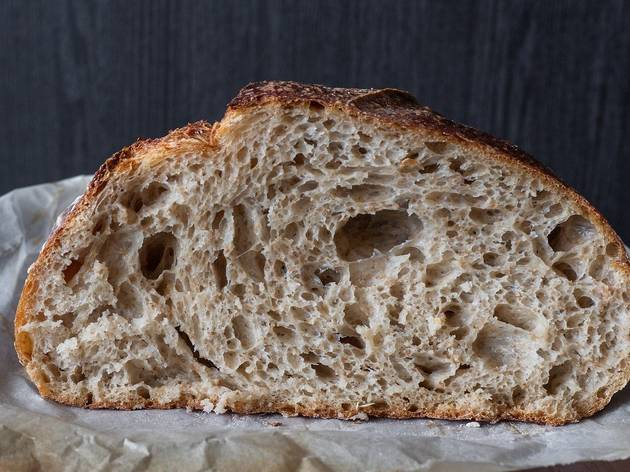 Pão de fermentação lenta